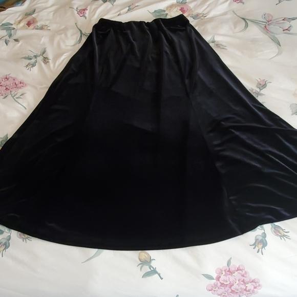Laura Ashley Dresses & Skirts - Laura Ashley velvet skirt